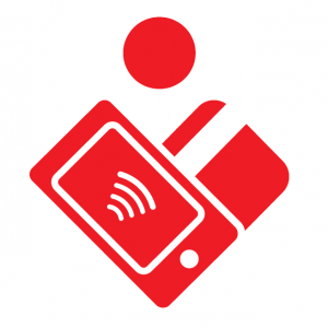 Piktogramm Mobiles Bezahlen