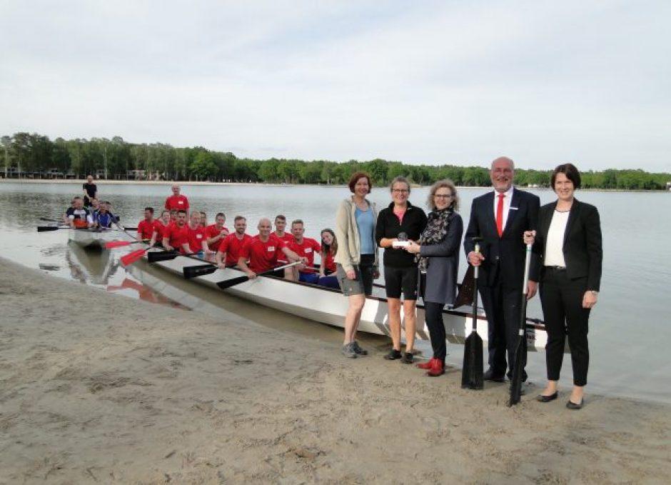 Projekt des Monats Juni: Zwei Drachenboote für den Tankumsee