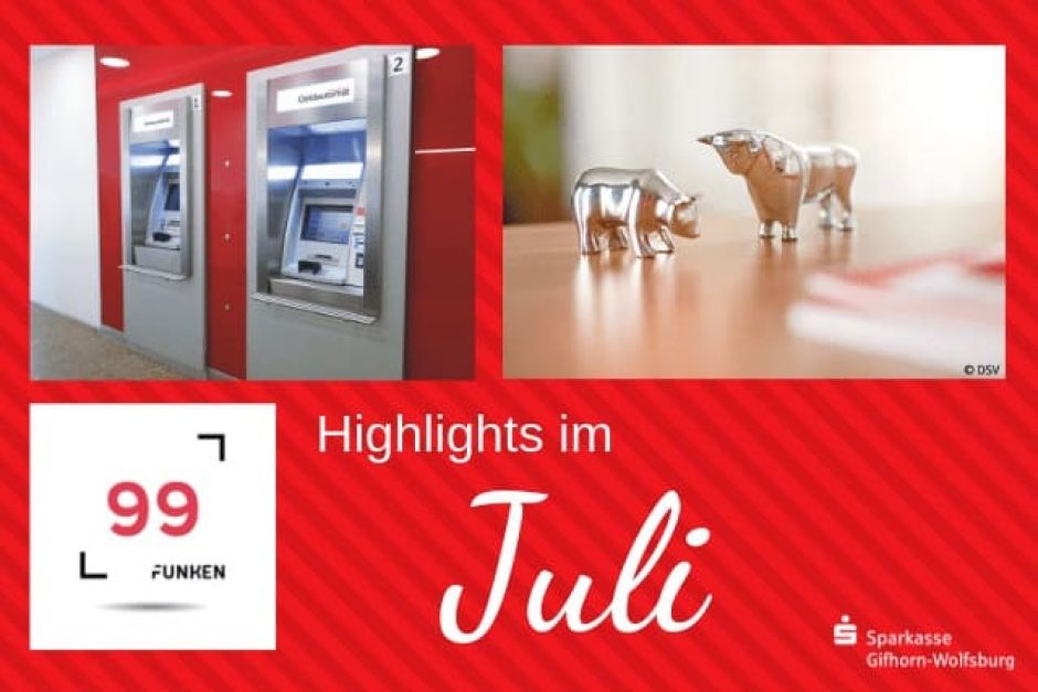 Highlights im Juli