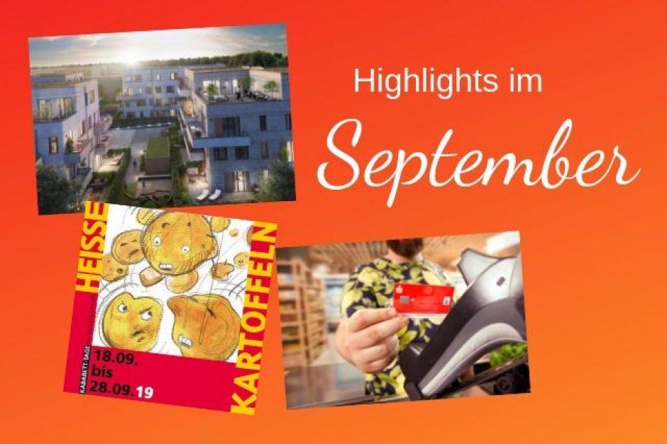 Highlights im September