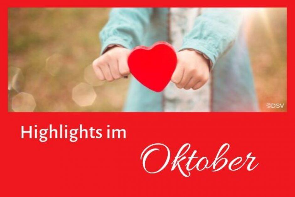 Highlights im Oktober