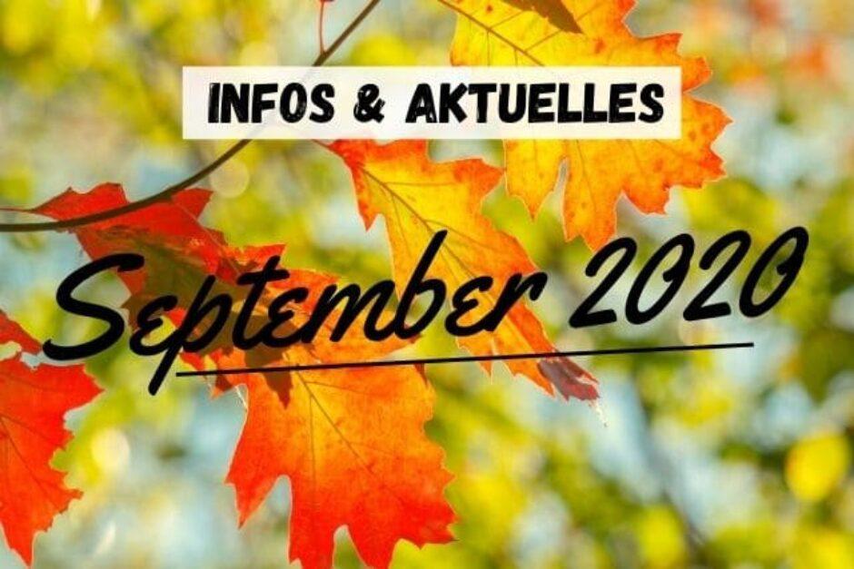 Aktuelles im September 2020
